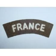 TITRES D'EPAULES FRANCE 1944 PETIT MODELE