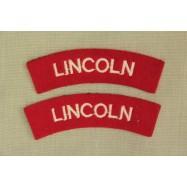 Titres d'épaule Lincoln (La...