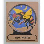 INSIGNE DU 418th FIGHTER...