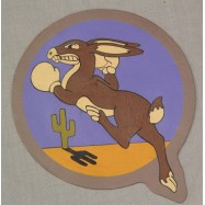 PATCH CUIR DU 96th FIGHTER...