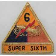 6th ARMORED DIVISION...