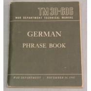 LIVRET GERMAN PHRASE BOOK...