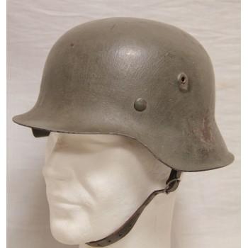 CASQUE M-1942 WH 2ème GM. WW2 GERMAN M1942 STEEL HELMET
