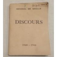 DISCOURS DU GENERAL DE...