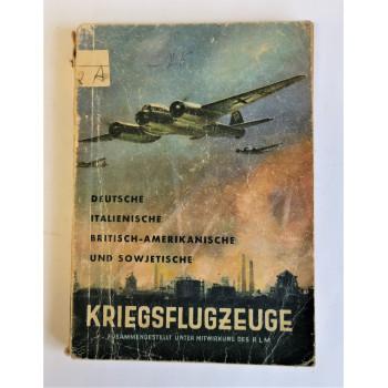 LIVRE ALLEMAND KRIEGSFLUGZEUGE IDENTIFICATION AVIONS LUFTWAFFE 1939-1945