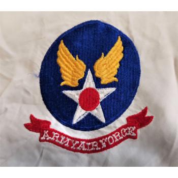 ECHARPE EN SOIE US ARMY AIR FORCE WW2 1939-1945