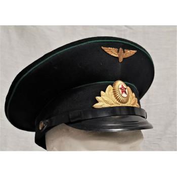 CASQUETTE POLICE FERROVIAIRE URSS CCCP