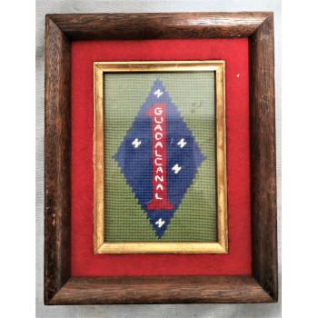CADRE 1 ST US MARINE CORPS DIVISION USMC GUADALCANAL 1939-1945