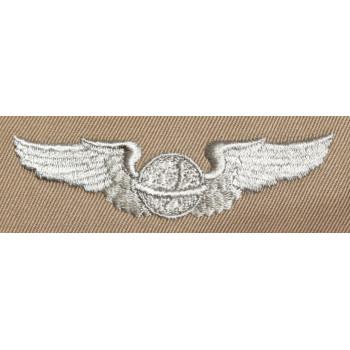 BREVET TISSUS DE NAVIGATEUR POUR TENUE ETE USAAF 2e GM