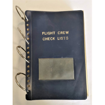FLIGHT CREW CHECK LISTS US AIR FORCE HELICOPTERS GUERRE DU GOLFE